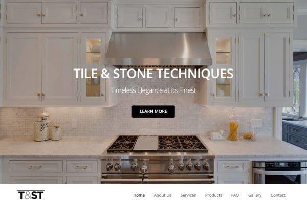 Tile & Stone Techniques Website