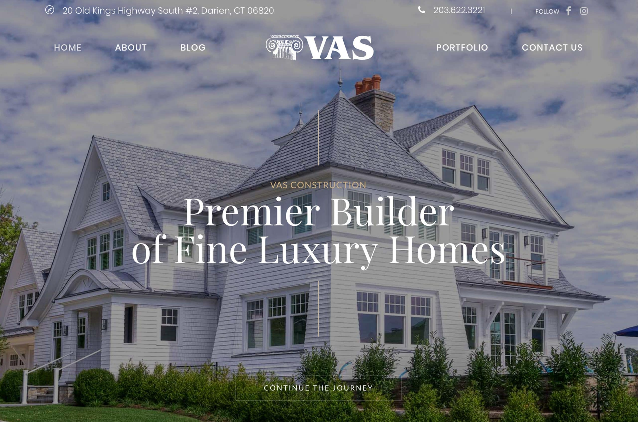VAS Construction Website