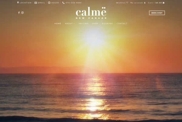 Website Design for Infrared Sauna