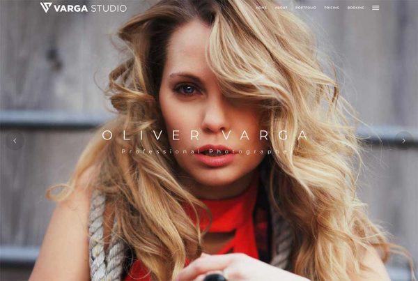 Studio Varga Photography Website
