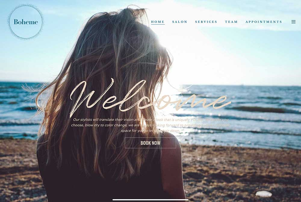 Hairsalon Website Greenwich CT